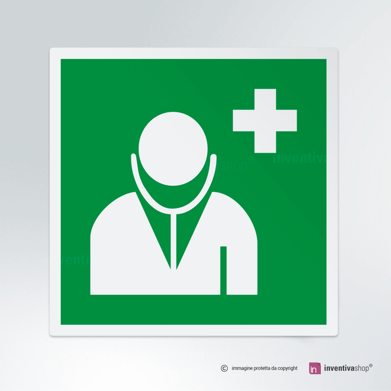 Cartello medico E009