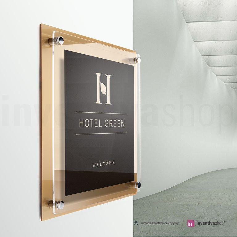 Targhe da hotel e alberghi